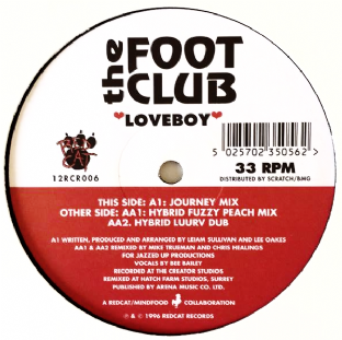 "Footclub (The) - Loveboy (12"") (G++/NM)"